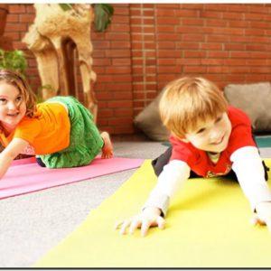 Детская йога и йога мама+малыш