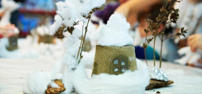 28 января в 11.00  Мастерская «Зимнее волшебство»